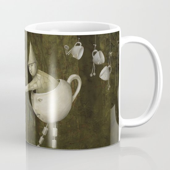 Teacup Greetings Mug