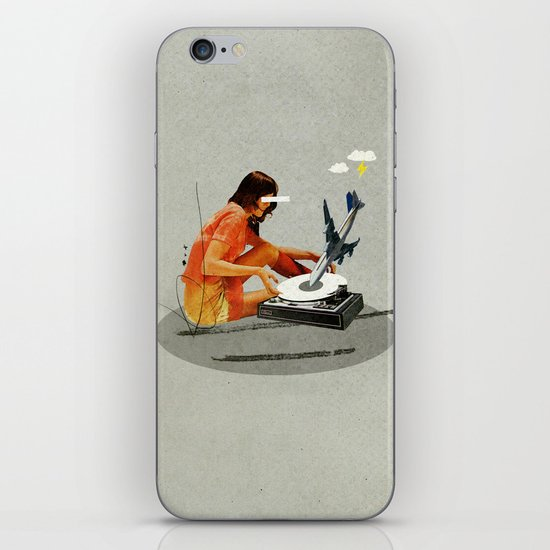 Blind, deaf too | Collage iPhone & iPod Skin