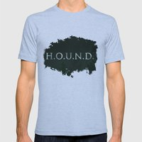 No. 5. H.O.U.N.D. Mens Fitted Tee Athletic Blue SMALL