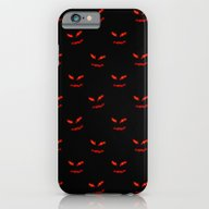 iPhone & iPod Case featuring Scary Faces Creepy Night… by AngelPearlGirl