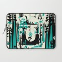 Time Alone Laptop Sleeve