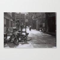 Beijing streets Canvas Print