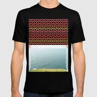 AZTEC 'Beyond The Sea' 1-1 Mens Fitted Tee Black SMALL