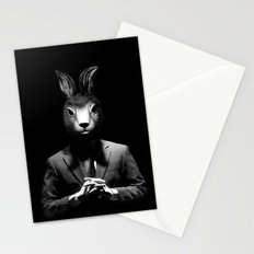 Rabbit Man Stationery Cards