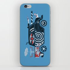 Vantastic Tank Girl iPhone & iPod Skin