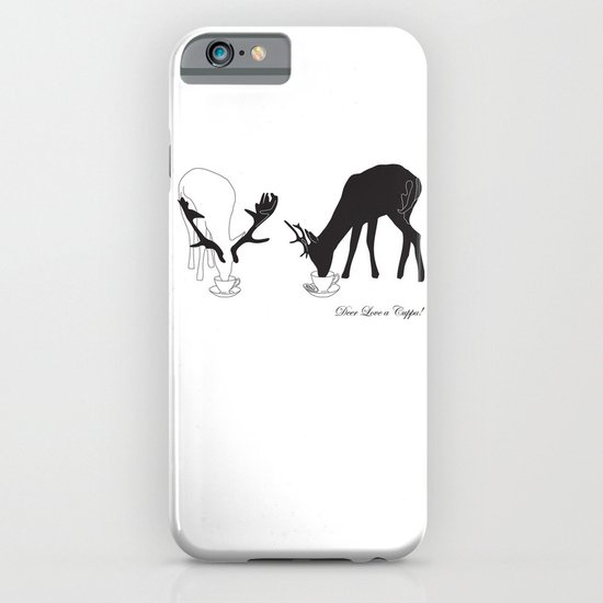 Deer love a Cuppa! iPhone & iPod Case