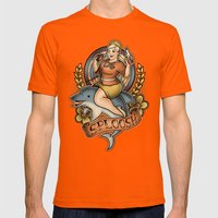 Sploosh! Mens Fitted Tee Orange SMALL