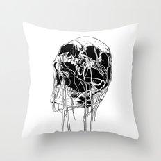 Skull 1 Throw Pillow