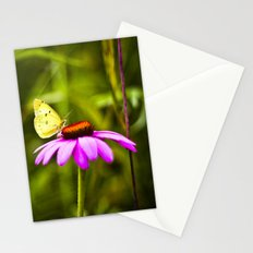 Purple cone Stationery Cards