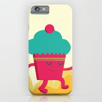 iPhone & iPod Case featuring Dancing Cupcake by Erika Noel Design