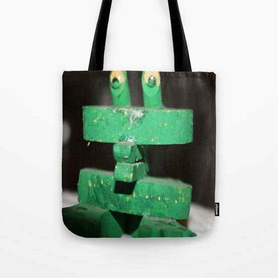 Clip Frog Tote Bag