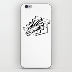 Stair problems iPhone & iPod Skin