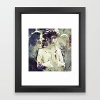 Angel With A Dirty Face … Framed Art Print