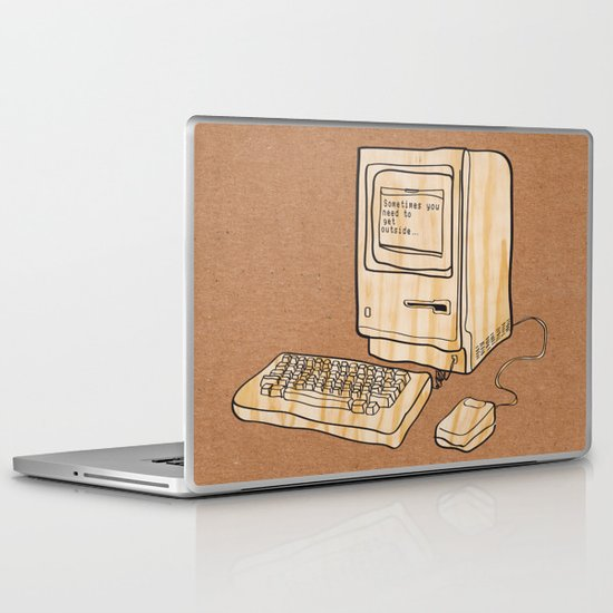 Sometimes you need to get outside Laptop & iPad Skin