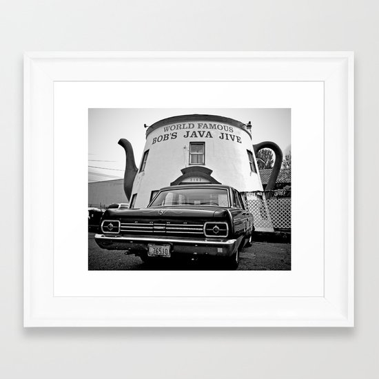 Fairlane at Bob's Framed Art Print