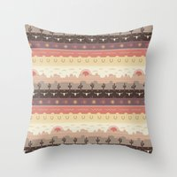 The Endless Journey Throw Pillow
