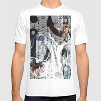 Lski Anchor Mens Fitted Tee White SMALL