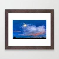 Evening Transitions Framed Art Print