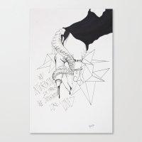 Lovely Vines Canvas Print