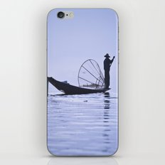 FISHERMAN AT INLE LAKE I… iPhone & iPod Skin