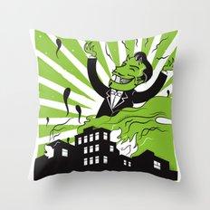 Soultaker Throw Pillow