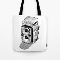 Rolleiflex Tote Bag
