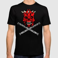 Maul's Bones Mens Fitted Tee Black SMALL
