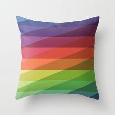 Fig. 040 Rainbow Stripes Throw Pillow