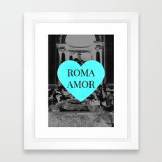 romamor Framed Art Print