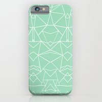 iPhone & iPod Case featuring Abstract Mirror Mint by Project M