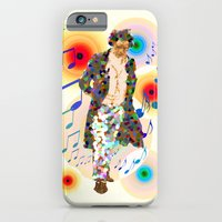 beethoven was deaf, but he could see music! iPhone 6 Slim Case