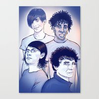 Bloc Party Canvas Print