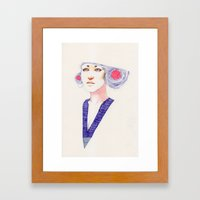 Hair Play 05 Framed Art Print