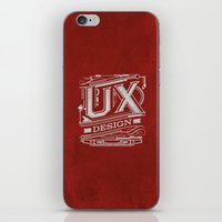 UX - Industrial Design - Red iPhone & iPod Skin