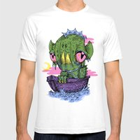 Lagoon Mens Fitted Tee White SMALL