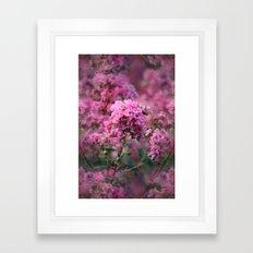 Playful Hot Pinks Framed Art Print