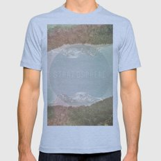 stratosphere Mens Fitted Tee Athletic Blue SMALL