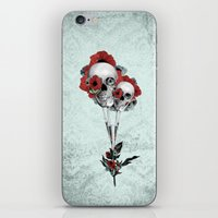 Evolution Of Poppies.  iPhone & iPod Skin