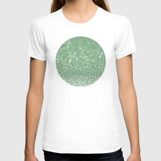 Seafoam bokeh T-shirt