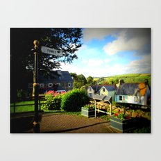 Welcome to Fowey Canvas Print
