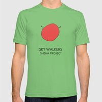 SKY WALKERS by ISHISHA PROJECT Mens Fitted Tee Grass SMALL