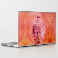 buddha Laptop & iPad Skins featuring Buddha by LebensART
