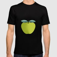 Apple 31 Mens Fitted Tee SMALL Black
