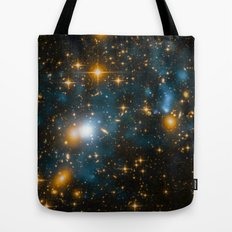 Cosmos 2, When stars collide (enhanced) Tote Bag