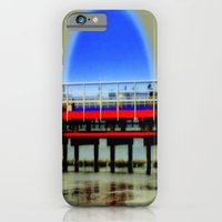 Red Pier- Blue Moon iPhone 6 Slim Case