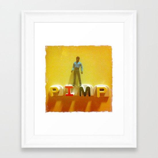 Lando at the Partay Framed Art Print