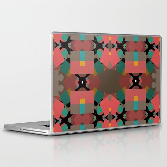 Geometic Crazy Mirror  Laptop & iPad Skin