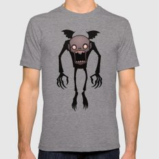 Nosferatu Mens Fitted Tee Tri-Grey SMALL
