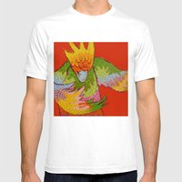 DANCE II Mens Fitted Tee White SMALL
