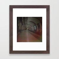 London Underground. Framed Art Print